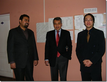 With His excellency and Mr Firdaus