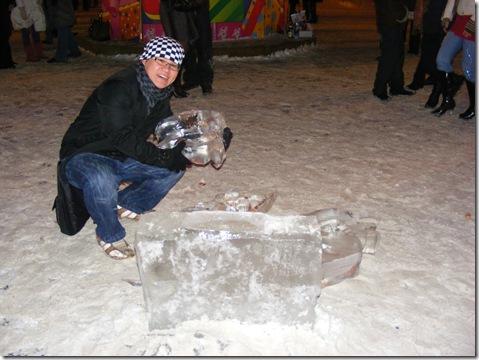 Repairing the ice