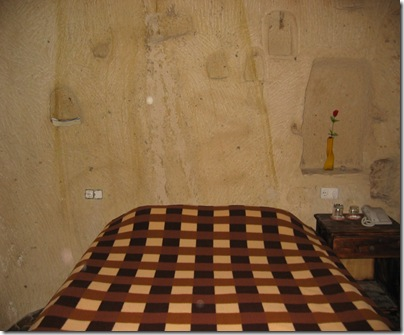 efenem's room in cave house