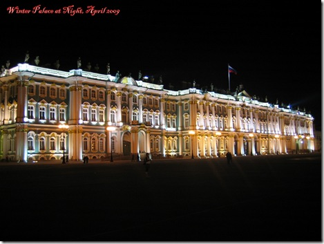 fb - night winter palace