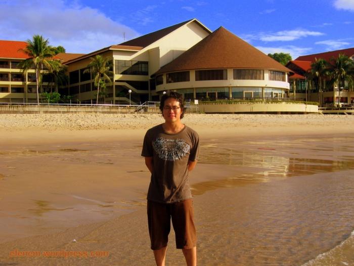fb in beach