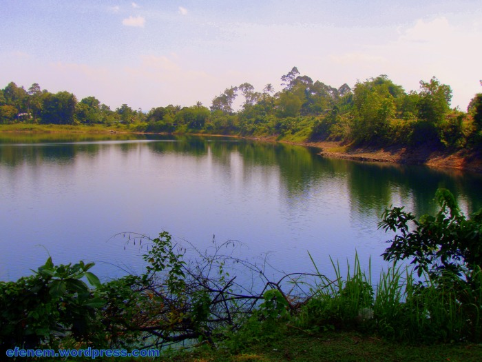 14- blue lake