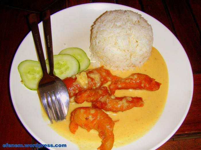 fish butter rice