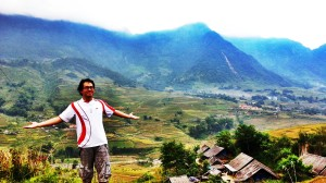 Sapa Valley hike wasnt an easy trail... but the view of majestic mountains, worth it!